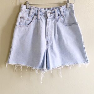 Vintage Levi's Native Blue Shorts